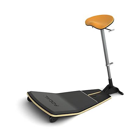 Safco® Focal Locus™ Seat, Citrus