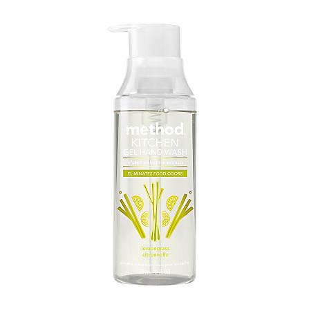 Method® Lemongrass Scent Kitchen Gel Hand Wash, 12 Oz