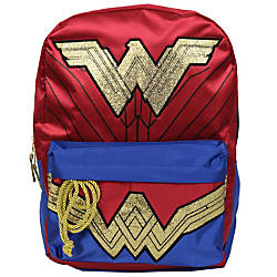 DC Comics Wonder Woman Backpack RedBlue