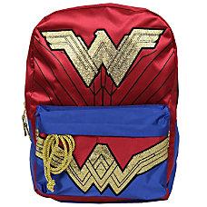 DC Comics Wonder Woman Backpack RedBlue
