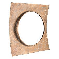 Zuo Modern Cuadrado Square Mirror Gold