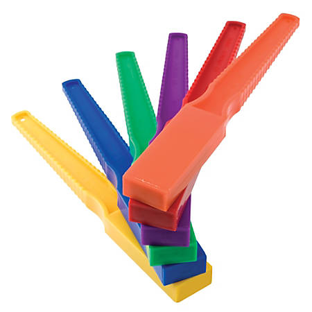 "Dowling Magnets Magnet Wand, 5/8""H x 1""W x 7 3/4""D, Assorted Colors, Pre-K - Grade 6"