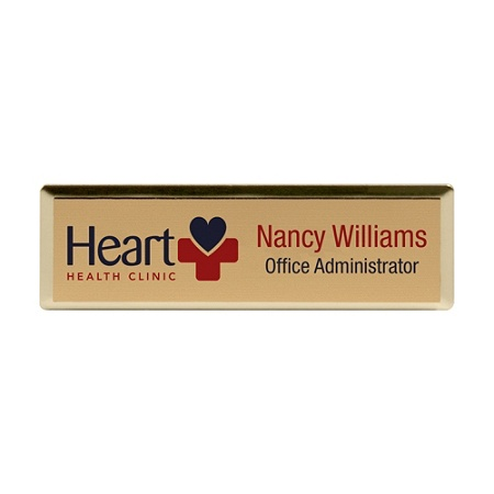 Rectangle Name Badge, 1