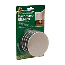 Duck Felt Hard Floor Furniture Sliders