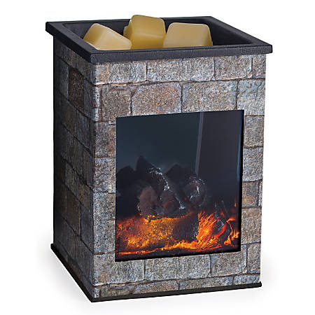 """Candle Warmers Etc Glass Illumination Fragrance Warmers, 5-13/16"""" x 8-13/16"""", Hearthstone, Pack Of 6 Warmers"""