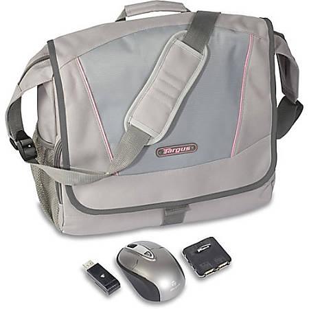 "Targus Incognito Messenger Bundle - Notebook accessories bundle - 15.4"""