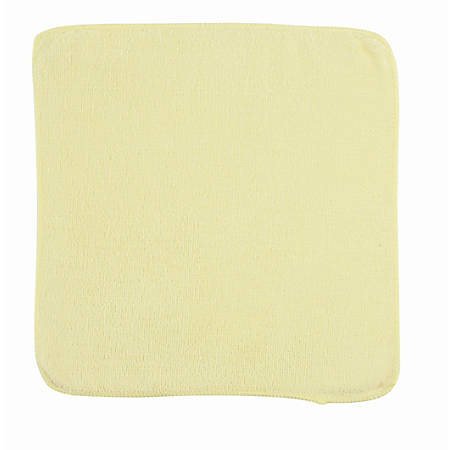 """Rubbermaid® Light Commercial Microfiber Cloths, 12"""" x 12"""", Yellow, Case Of 288"""