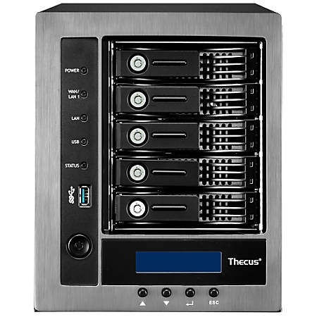Thecus® N5810 NAS, USB 3.0, 4425461