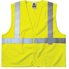 Ergodyne GloWear Safety Vests Treated Polyester