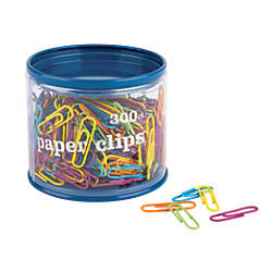 Fashion Paper Clips Assorted Colors Pack