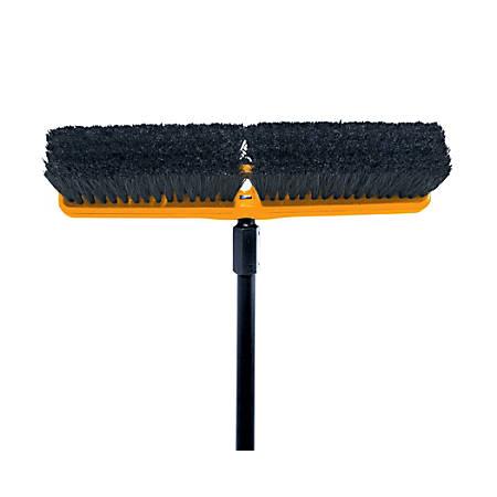 """Rubbermaid Commercial Medium Sweep Plastic Foam Block - 3"""" Tampico Bristle - 1 Each"""