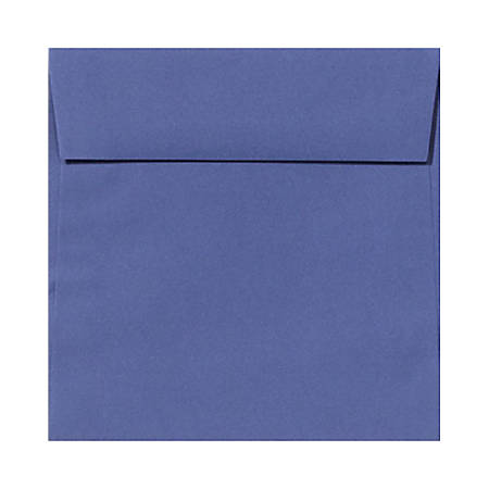 """LUX Square Envelopes With Peel & Press Closure, 5 1/2"""" x 5 1/2"""", Boardwalk Blue, Pack Of 500"""