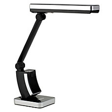 OttLite Slimline Table Lamp Black