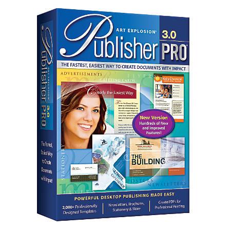 Art Explosion® Publisher Pro® 3.0, Disc