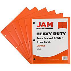 JAM Paper Heavy Duty 3 Hole