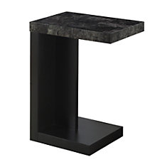Monarch Specialties Modern End Table GrayBlack