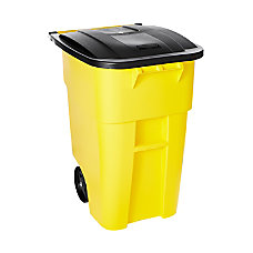 Rubbermaid Brute Square Plastic Rollout Container