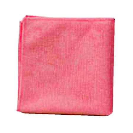 """Rubbermaid® Microfiber Cloths, 12"""" x 12"""", Red, Pack of 24 Cloths"""