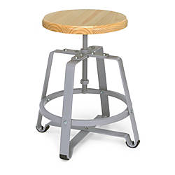 OFM Endure Series Small Stool MapleGray
