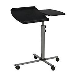 "Techni Mobili Mobile Laptop Cart, 36""H x 30""W x 16""D, Graphite"