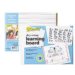 Pacon GoWrite Dry Erase Learning White