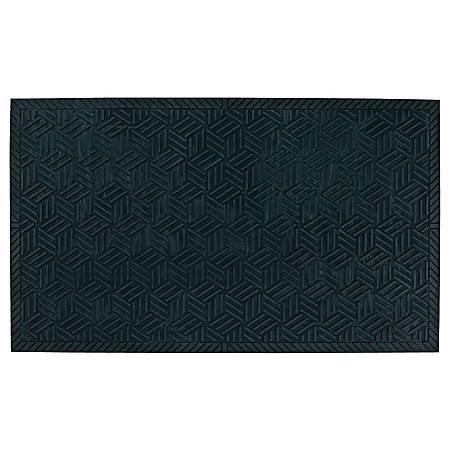 """The Andersen Company SuperScrape Plus Floor Mat, 36"""" x 120"""", Black"""