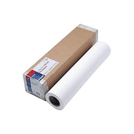 "Epson® Somerset Fine Art Paper, 24"" x 50', White"
