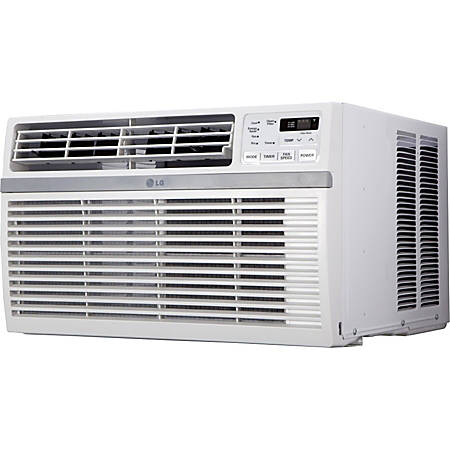 LG 15000 BTU Window Air Conditioner - Cooler - 4396.07 W Cooling Capacity - 800 Sq. ft. Coverage - Yes - Washable - Remote Control - Yes - White