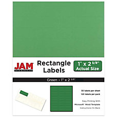 JAM Paper Mailing Address Labels 302725772