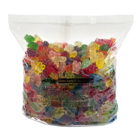 Albanese Confectionery Gourmet Gummy Bears, Assorted Flavors, 5-Lb Bag