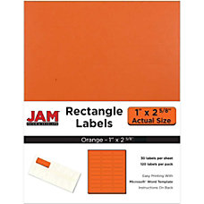 JAM Paper Mailing Address Labels 302725782