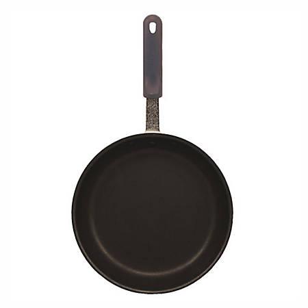 "Winco Non-Stick Aluminum Fry Pan, 8"", Black"