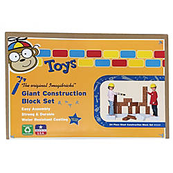 Smart Monkey ImagiBRICKS Giant Construction Building