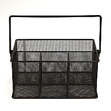 Mind Reader 4 Compartment Mesh Organizer