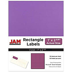 JAM Paper Mailing Address Labels 302725788