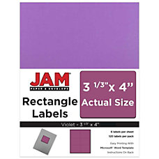 JAM Paper Mailing Address Labels 302725792
