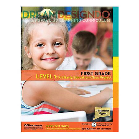 Makerspace 3-D Learning Curriculum, Kindergarten - Grade 2