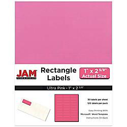 JAM Paper Mailing Address Labels 302725795