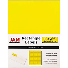 JAM Paper Mailing Address Labels 302725801