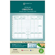 FranklinCovey Original Weekly Planner Refill 5