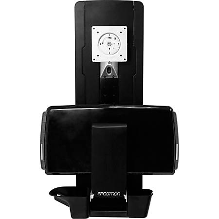 """Ergotron StyleView Lift for Flat Panel Display - Black - 24"""" Screen Support - 33 lb Load Capacity"""