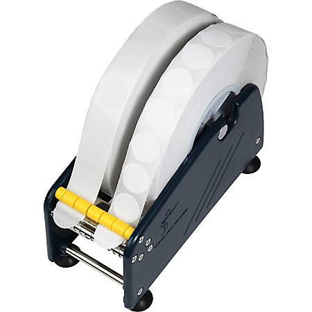 "Tatco Adhesive Back Mailing Seals, TCO36200, 1"" Diameter, 3"" Core, White, 5,000 Per Roll"