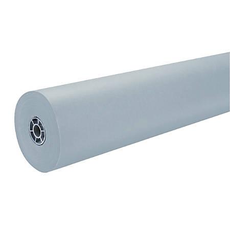 "Pacon® Art Kraft® Duo-Finish Kraft Paper Roll, 36"" x 1000', Gray"