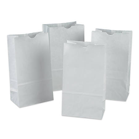 Pacon® White Bags, Pack Of 100