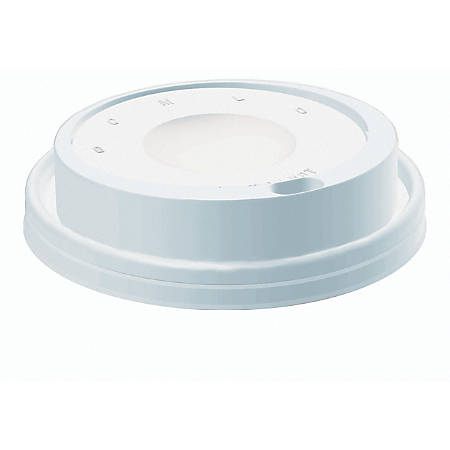 Dart® Cafe G Cappuccino Dome Lids, For 12-24 Oz Cups, White, Case Of 1,000