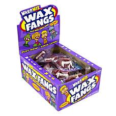 Wack O Wax Gummy Candies Fangs