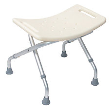DMI Folding Backless Folding Shower Seat