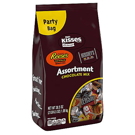 Hershey's® Chocolate Mix Assortment, 38.5-Oz Bag
