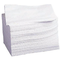 Medline Deluxe Dry Disposable Washcloths 10