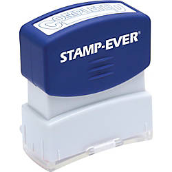 US Stamp Sign Pre inked Completed
